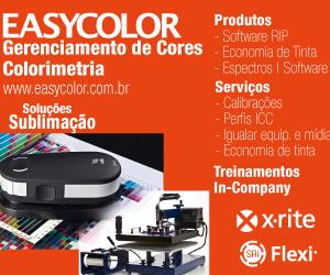 EasyColor, Sublimação, Economia de Tinta, Ink Saving, Gerenciamento de Cores, ICC, espectrofotômetro, x-rite, xrite, cor, calibração, colorimetria, software rip, impressão em tecido