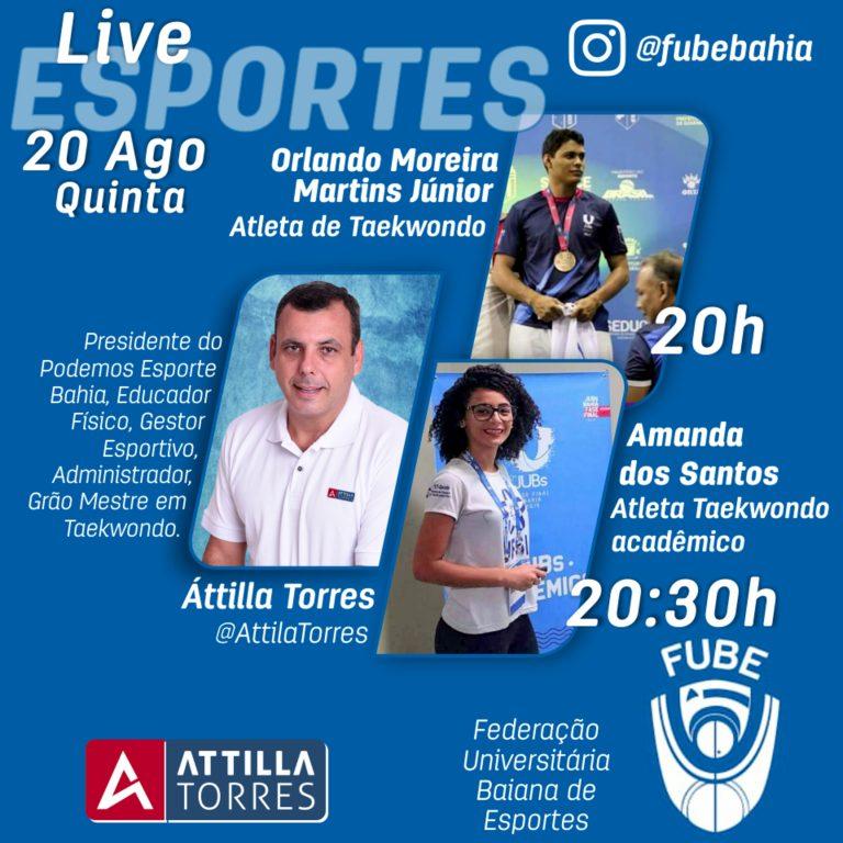 FubeBahia com Orlando Martins e Amanda Ferreira